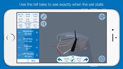 North U Sailing Trim Simulator - Virtual, Sailor, Wind, Navigation, Regatta screenshot three