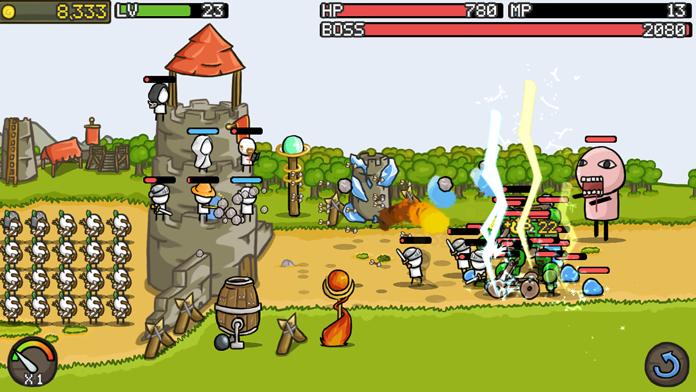 Grow Castle! Screenshot