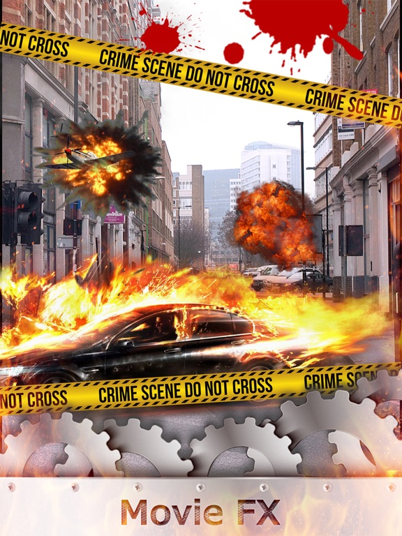 Movie FX Maker - Hollywood Style Special Effect Change.r & Extreme Photo Sticker Edit.or-ipad-0