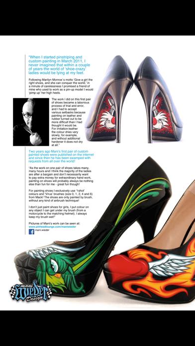 Pinstriping & Kustom Graphics Magazine screenshot two