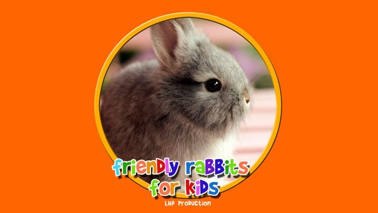 friendly rabbits for kids - no ads screenshot-4