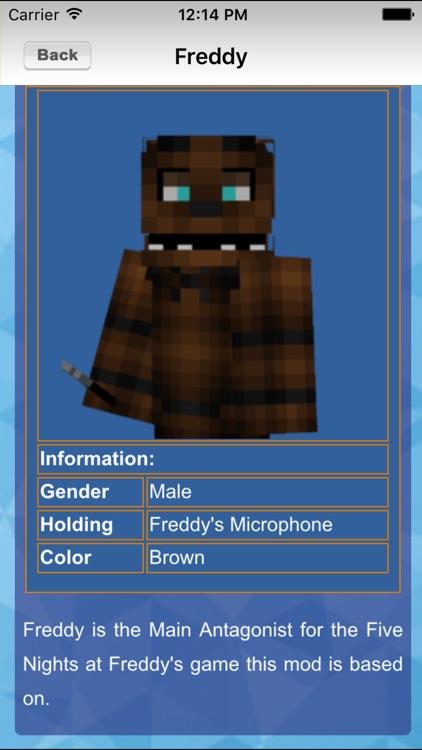 FNAF Mod Guide For Minecraft PC screenshot-4