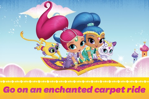 Shimmer and Shine:  Enchanted Carpet Ride Game screenshot 1
