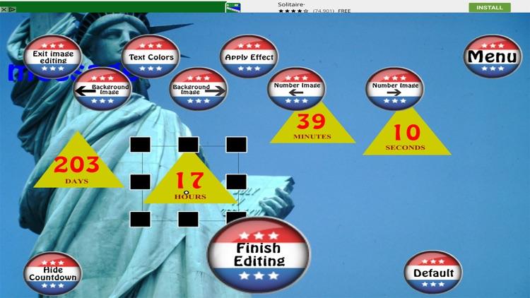 Presidential Countdown Free screenshot-3