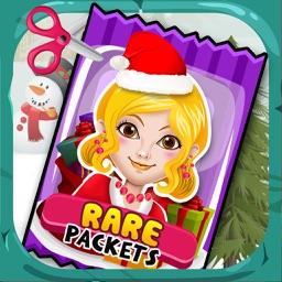 Christmas Sticker Dress Up Salon - little baby santa & emoji makeup games for girl kids!