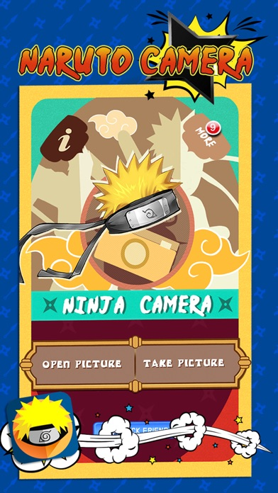 Naruto Edition Camera : Ninja Hair Fan Art Manga Sticker screenshot four