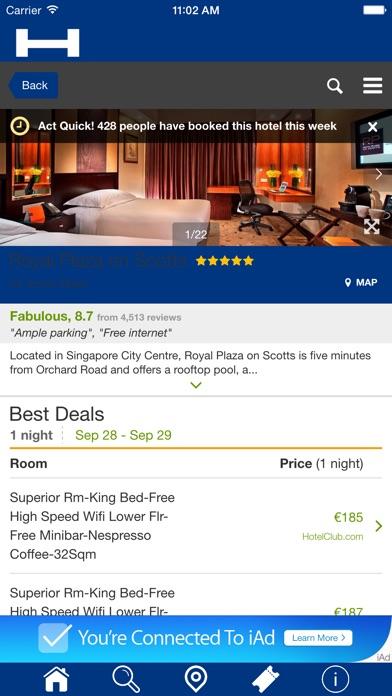 香港對於今晚與地圖和旅行遊覽比較和預訂酒店屏幕截圖4