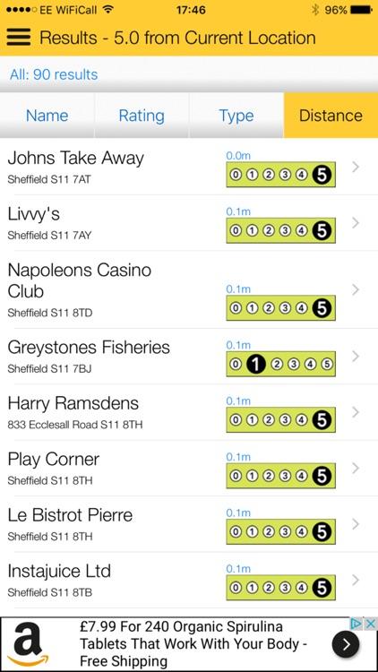 Food Hygiene - Scores on the Doors  sc 1 st  AppAdvice & Food Hygiene - Scores on the Doors by Transparencydata