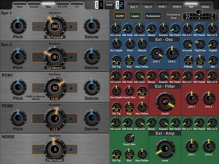 MIDI Designer XW screenshot-3