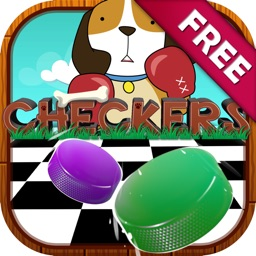 """Checkers Boards Puzzles Games """"for Dog & Puppies """""""