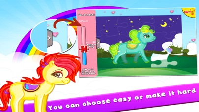 Pony Puzzles: Jigsaw Puzzles for Kids and Toddlers screenshot two