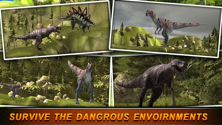 T-Rex Hunting Season 2016:Dino Hunter Survival Mission in Jurassic Island screenshot-1