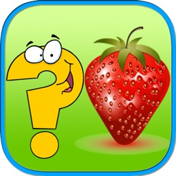 Cute fruit iq matching games for toddler
