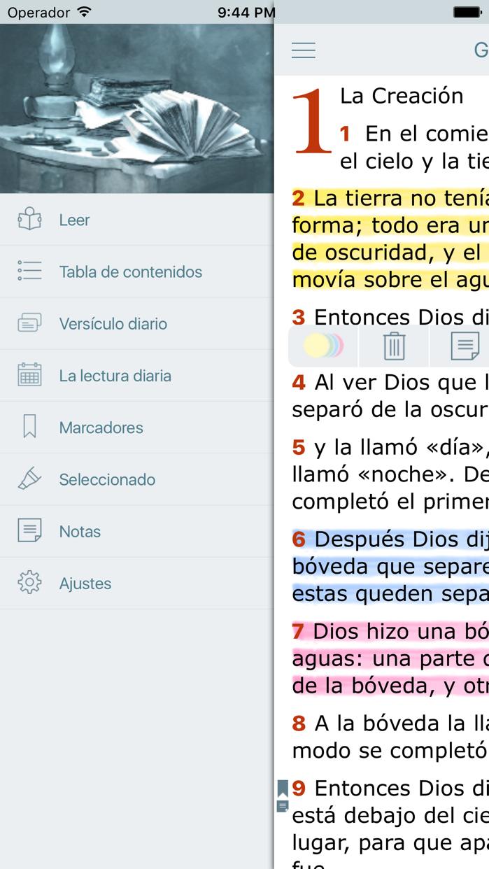 Biblia Dios Habla Hoy en Audio (Bible in Spanish) Screenshot
