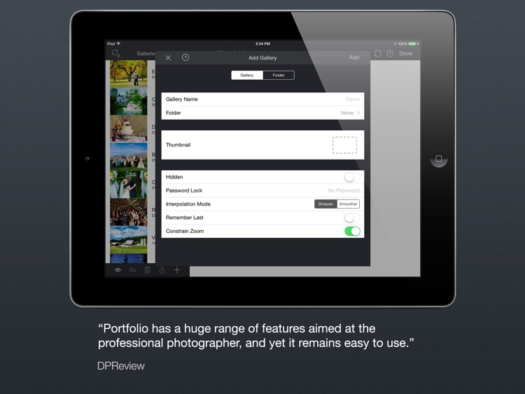 Portfolio for iPad screenshot-3