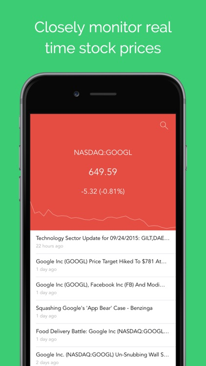 Ticker - Stock Quotes & News