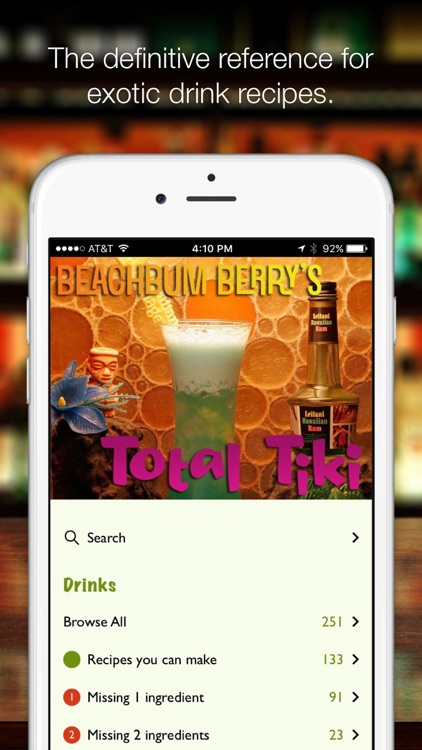 Beachbum Berry's Total Tiki screenshot-0