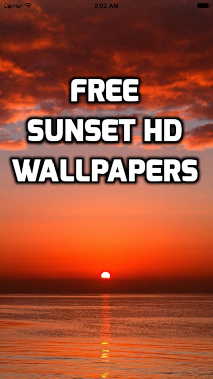 Sunset Wallpaper HD Free