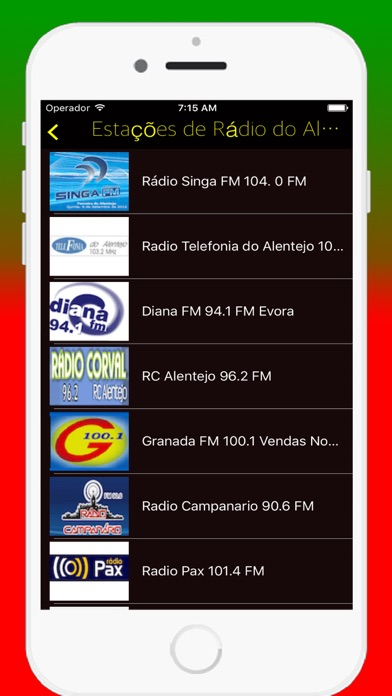 Radios Portuguese FM - Live Radio Stations Online screenshot four