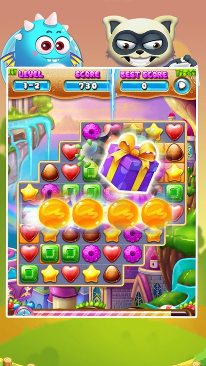 Candy and Cookies Match 3 Free
