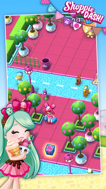 Shopkins: Shoppie Dash! screenshot-1