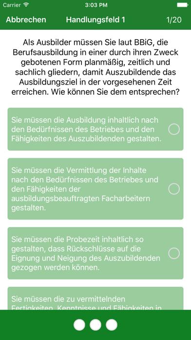 Screenshot for AEVO Prüfungsvorbereitung in Germany App Store