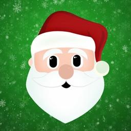 Santa's Little Stickers