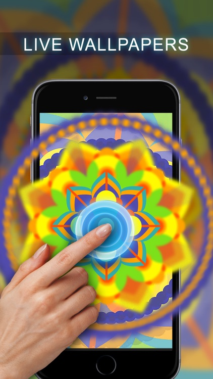 Live Mandala Wallpapers - Lock Screen Meditation screenshot-3
