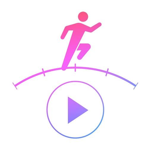 Hi!Tempo Player ~ GPS対応ジョギング・ランニング用音楽プレーヤーアプリ