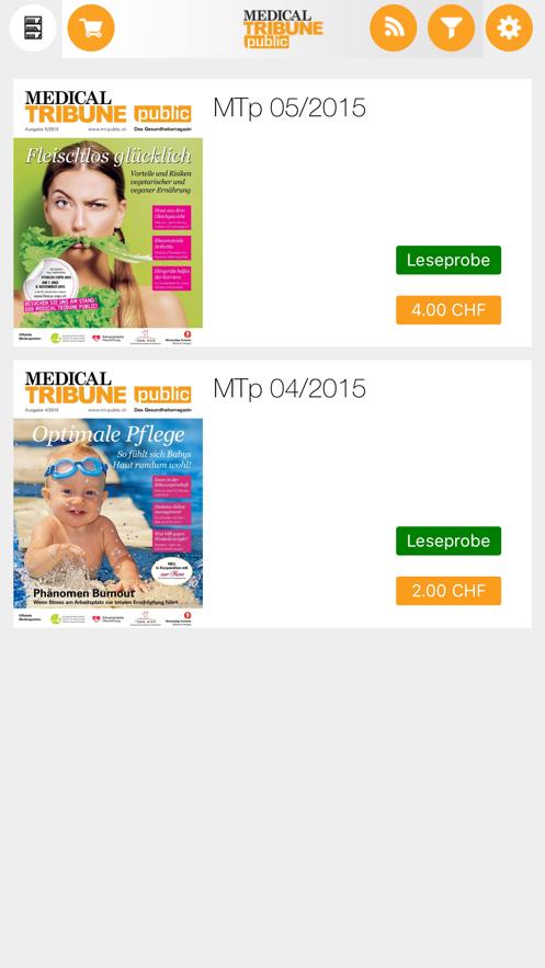 Medical Tribune Public App 截图