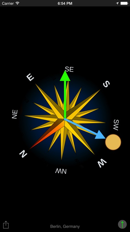 Sun Compass App screenshot-3