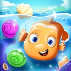 Vissen Oceaan Spelletjes 3 Op Een Rij Avontuur In De App Store