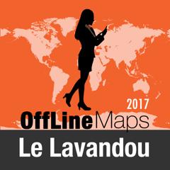 Le Lavandou Déconnecté carte et guide de voyage
