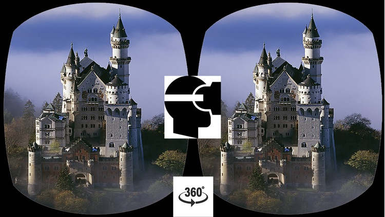 VR Neuschwanstein Castle 3D Tour - Virtual Reality 360 Germany
