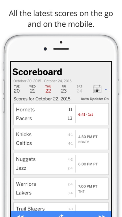 GameDay Pro Basketball Radio - Live Games, Scores, Highlights, News, Stats, and Schedules screenshot-3