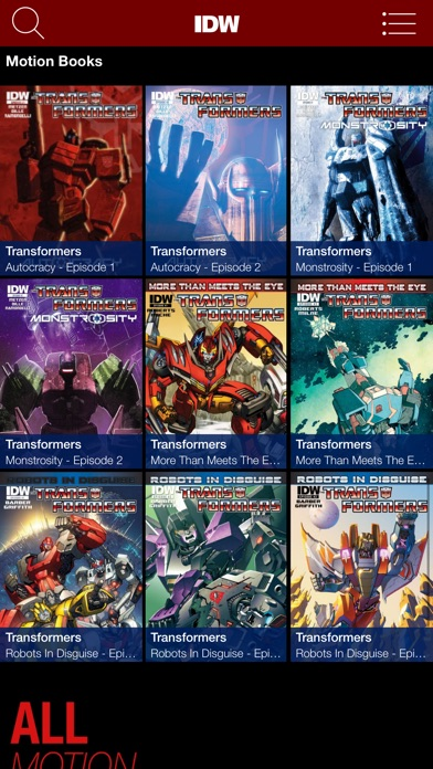 Transformers Comics review screenshots