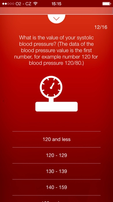 Heart Test - risk calculator of heart attack screenshot three