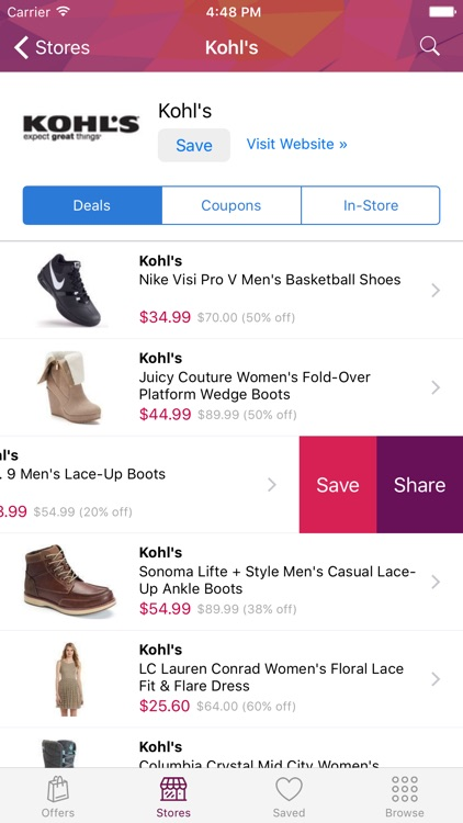 DealCatcher: Coupons & Deals Shopping App screenshot-4