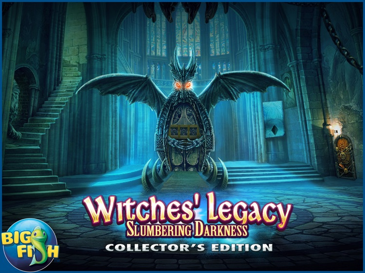 Witches' Legacy: Slumbering Darkness HD - A Hidden Object Mystery (Full) screenshot-4