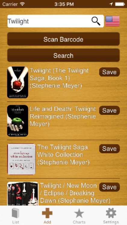My Book List - ISBN scanner to create your library screenshot-3