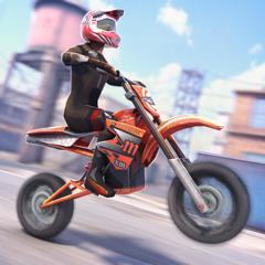 Extreme Motocross Racer 3D . Nouveau Jeu Gratuit de Courses