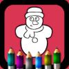 Ihor Poleshko - Christmas. Coloring books for kids artwork