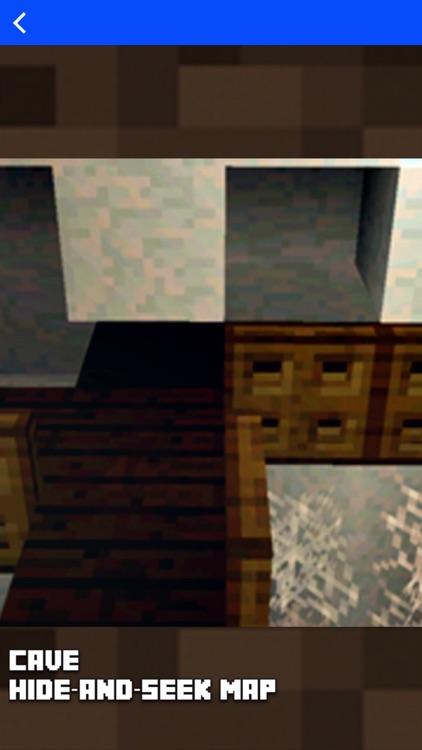 Hide N Seek - Best Maps for Minecraft Pocket MCPE