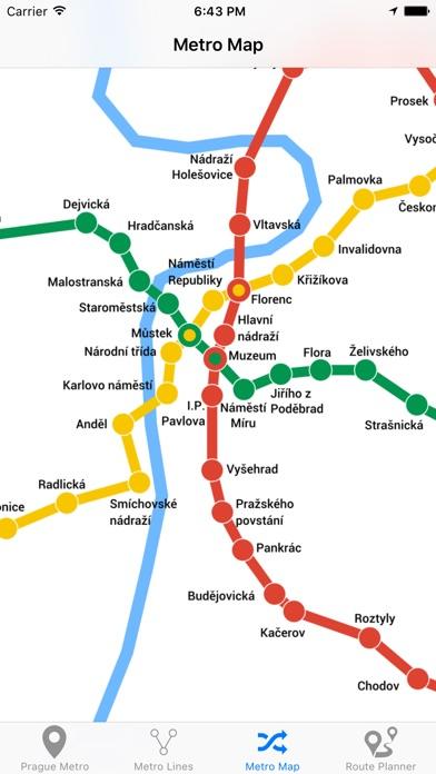 Prague Metro Screenshot 4