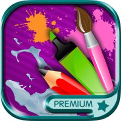 Über Bilder mit dem Finger zeichnen - Premium