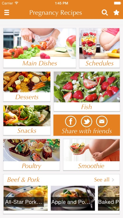 Pregnancy Recipes - healthy cooking tips, ideas