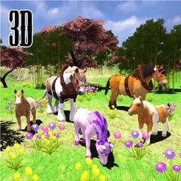 Wild Horse Maze Runner Simulator 2017