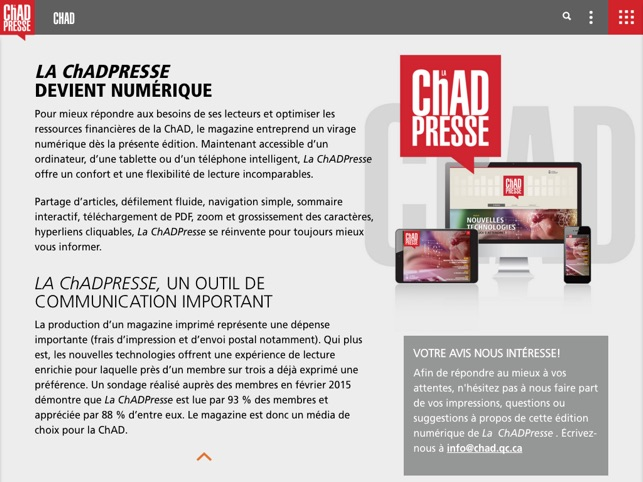 La ChadPresse on the App Store
