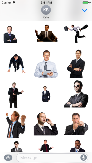 Best Businessman Stickers screenshot one