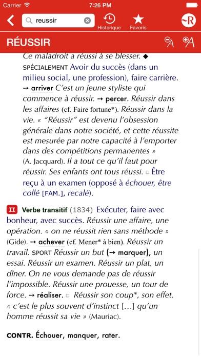 Le Petit Robert de la... screenshot1